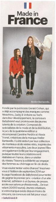 LE PARISIEN MAGAZINE - 28.02.14