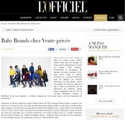 L'OFFICIEL.com – 15/06/2015