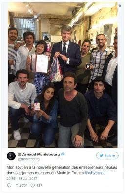 Tweet Arnaud Montebourg – 19.06.2017